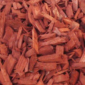 Mulci din lemn colorat